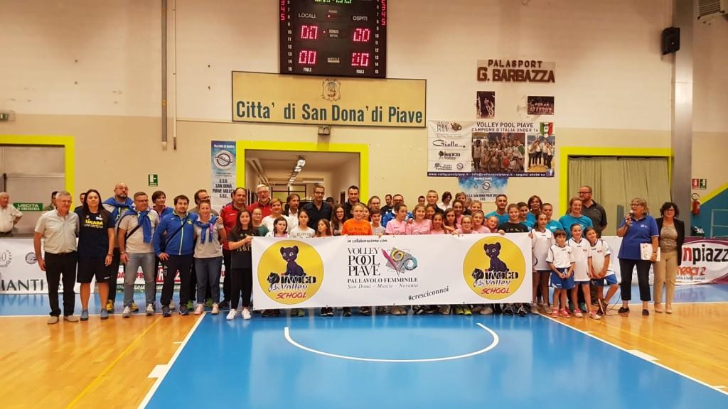 Imoco Volley School gruppo presentazione
